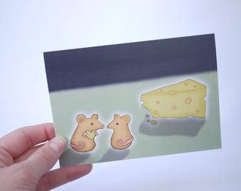 Mice Valentine's Day Card