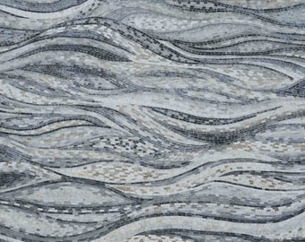Abstract Mosaic Art - Peloponnese Waves