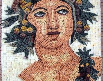 Roman Goddess Pomona Mosaic