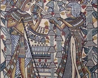 Pharaohs Mosaic Ancient Design