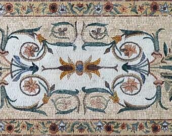 Garden Mosaic Artwork - Estee I