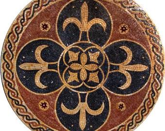 Mosaic Art Rondure- Heraldica
