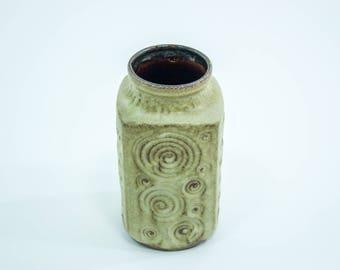 Scheurich 282-20 vase decor Jura, West German pottery vase, vintage West German pottery Scheurich Keramik