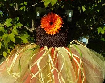 Fall Harvest/ Autumn Harvest Tutu Dress MADE TO ORDER