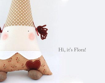 customizable fabric doll / rattle