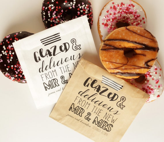 Wedding Favor Donut Bags : favorite favorited like this item add it to your favorites to revisit ...