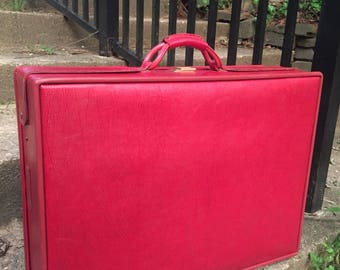Hartmann Suitcase Luggage Red