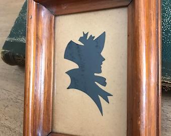 FREE SHIPPING - Framer Vintage Silhouette