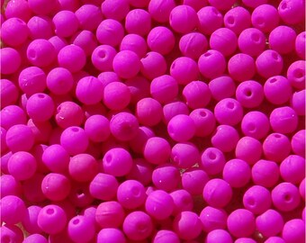 ROUNDS, 3mm Beads, Neon Dark Purple, 25125,  sold in units of 300 beads.