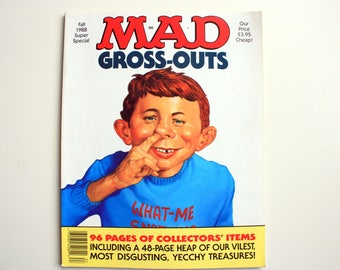 MAD Magazine Fall 1988 Super Special - MAD Gross Outs - MAD book - Mad Super Special Number 64