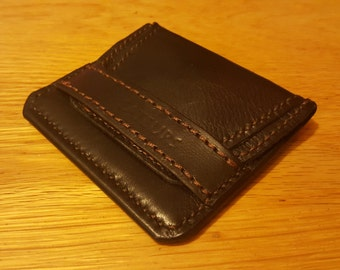Credit card Wallet, Leather wallet - Mens leather wallet - handmade bifold leather wallet leather wallet credit card