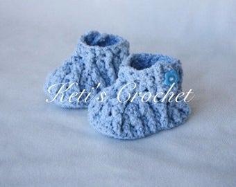 Crochet Booties,Baby Cotton Booties,Girls Crochet Cotton Booty,Baby Cotton Slipper,Baby Crochet Shoes