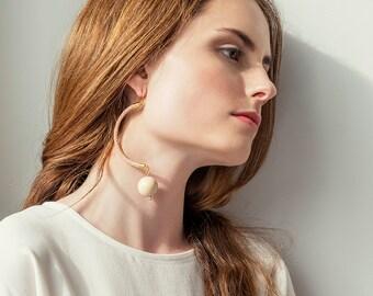 Modern Earrings, Statement Earrings, Rope Earrings, Fashion Earrings, Bohemian Earrings, Boho Earrings, Dangle Earrings