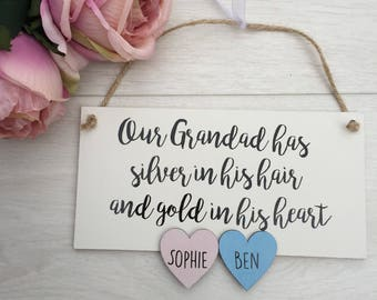 Daddy plaque, Father's Day gift, daddy gift, dad sign, Father's Day card, grandad gift, grandad plaque
