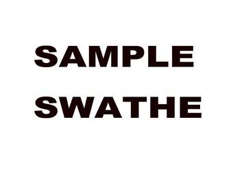 fabric sample shipping