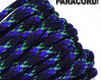 Undead - 100 Feet - 550 Paracord for Paracord Crafts - Made in the United States