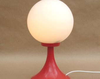 70 he J. space age table ball of lamp with Tulip foot