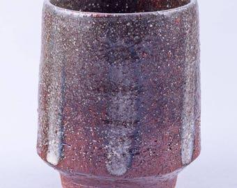 Yunomi Tea Cup, Casual Tea Bowl: Stoneware Pottery