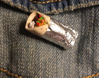 Miniature Burrito pin