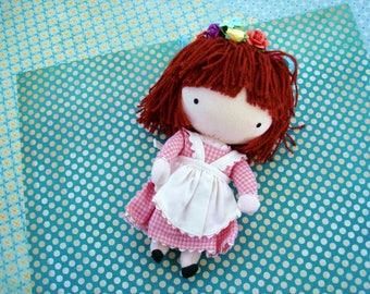 Joan Walsh Anglund Pocket Doll 1965 Fabric Doll