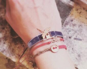 dragonfly pendant bracelet