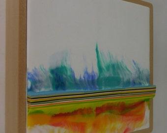 Encaustic Painting Stratum 178