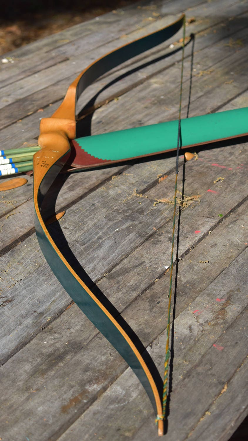 Vintage collector recurve bows