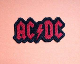 AC/DC Iron-on Patch