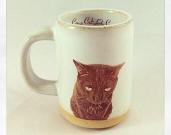 Bull Bull's Black Cat espresso cup