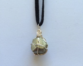 SALE // Pyrite // Pyrite Necklace // Crystal Jewelry //