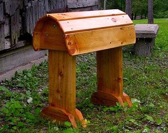 Deluxe Golden Oak Saddle Stand Saddle Rack