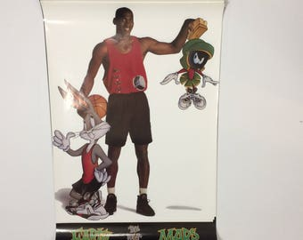 Nba michael jordan best on mars and earth poster looney tunes nba jersey