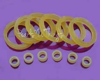 "Rubberbands For Restringing 8"" Doll Arms & Head To Legs Rubber Bands"