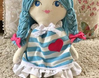 Lavinia, Cloth doll-Soft doll