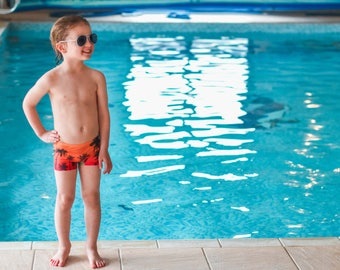 MBJM PB Swim Shorties pdf sewing pattern (6-12m - Age 12)