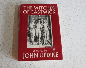 The Witches of Eastwick a novel by John Updike - Vtg Book of the Month Hardcover Book