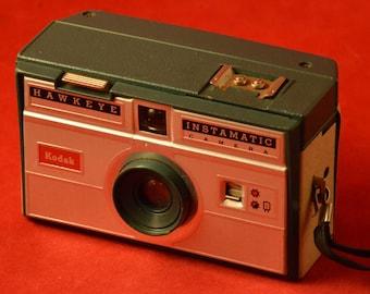 Kodak Hawkeye Instamatic beige/green