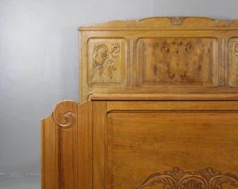 French Chestnut Bed Frame