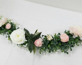Flower Garland, Floral Garland, Wedding Garland, Silk Flower Garland, Wedding Flower Garland, Silk Flowers, Wedding Flowers, Garland