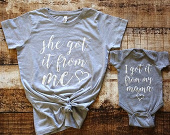 Mommy and me Outfit / Mommy me Tshirt / Mommy and Me Shirt / Mommy and me shirts / Mother daughter / Mommy and Me