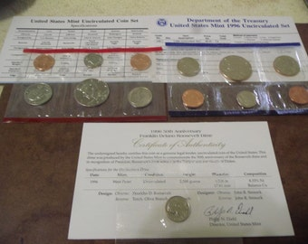 1996 Mint set with 1996-West Point dime original Packaging