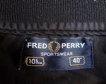 fred perry vests