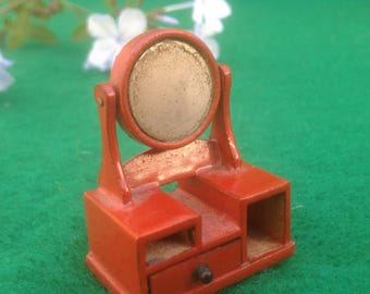 Dollhouse Miniature Vanity Mirror Vintage