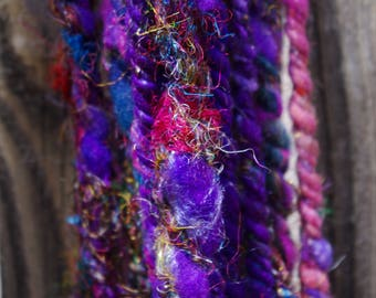 Sari not Sorry Handspun Art Yarn