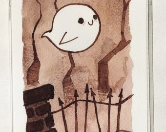 Little Ghost Mini Print Collection