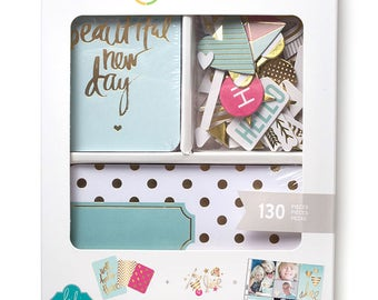 Foil Kit - Project Life - Heidi Swapp - Becky Higgins - 130 Pieces