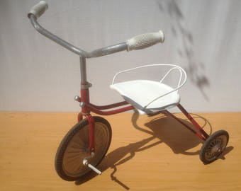 Old Tricycle baby bicycle year 40 50 Vintage child