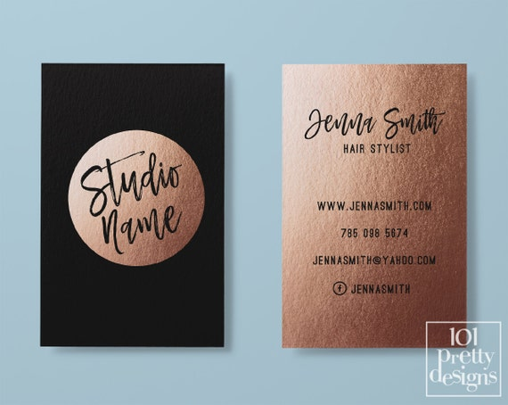 2 sided business cards