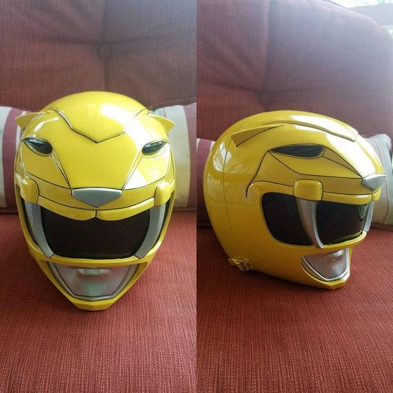 Yellow power ranger mask