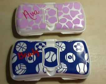 Customized Baby Wipe Case